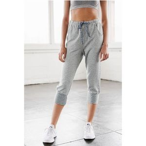 🆕NWT Free People™️ Cropped Grey sweatpants.